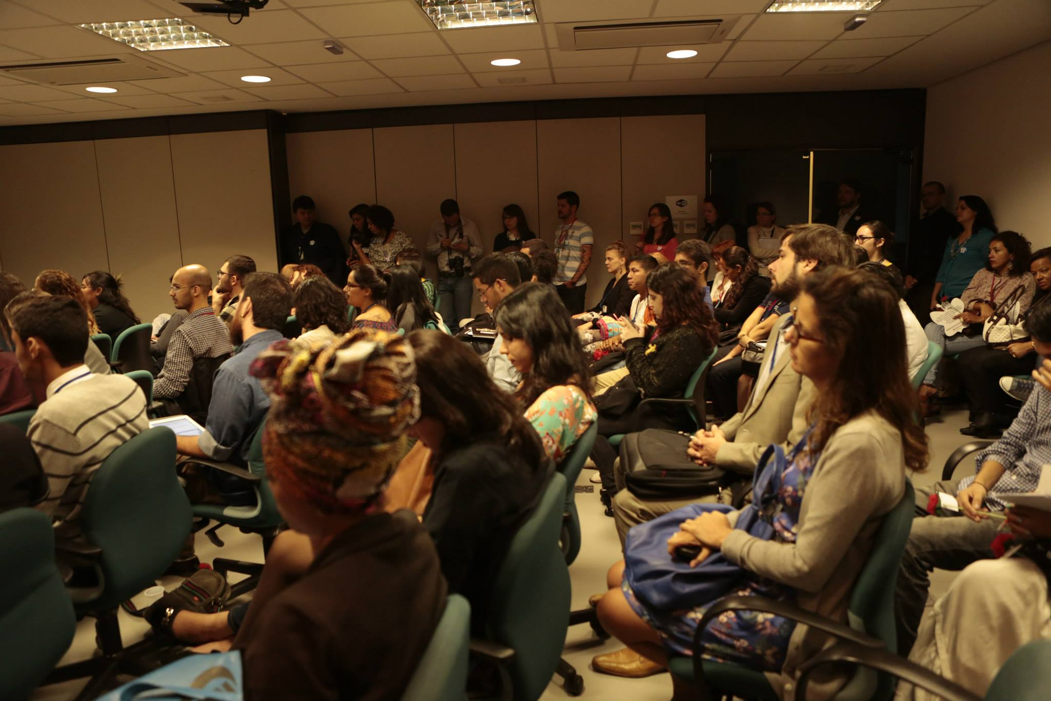 Debate sobre o Dia Internacional de Luta Contra a Homofobia, conhecido pela sigla em inglês IDAHOT. Foto: Renato Oliveira/ASCOM DDAHV
