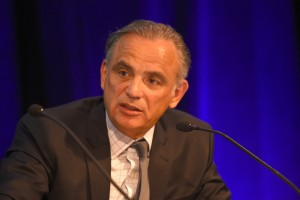 VANCOUVER,BC,JULY 18Luiz Loures,UNAIDS, at the 8th IAS Conference, July 18, 2015 in Vancouver, BC.(Don MacKinnon for AFP)