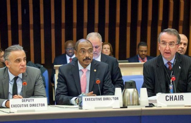 Reunião da Junta de Coordenação do UNAIDS em Genebra. Foto: UNAIDS/Divulgação