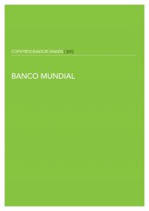 Banco Mundial - Copatrocinadores UNAIDS