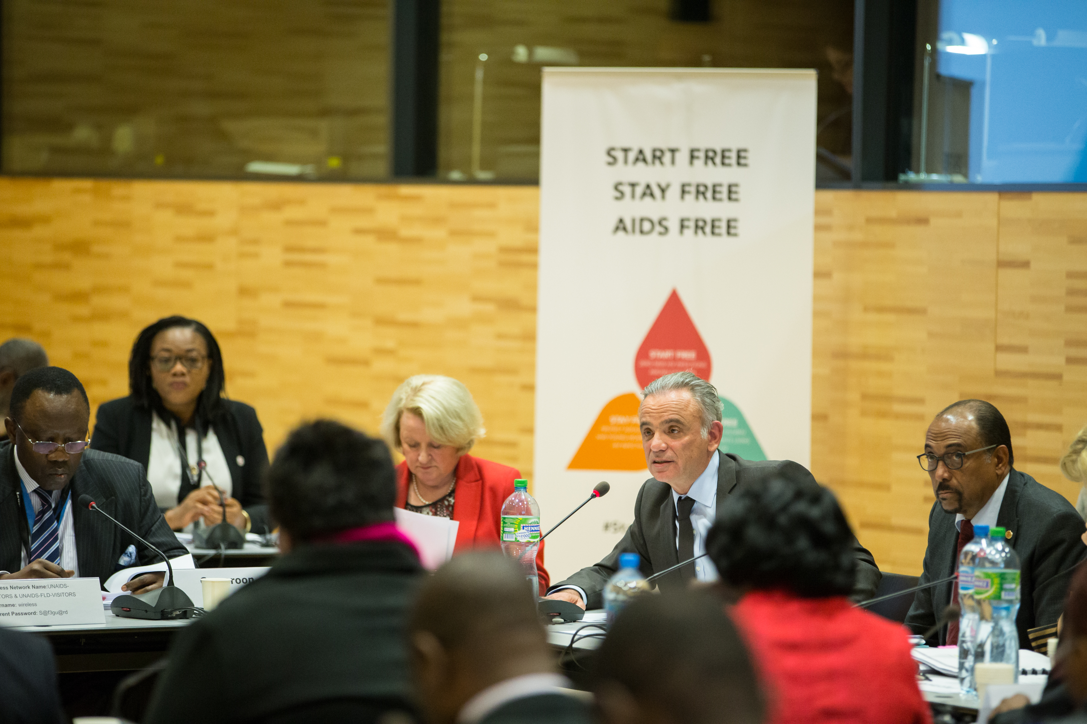 Start Free Stay Free AIDS Free, High-level Ministerial Dialogue, 5 December 2016, UNAIDS Headquarters, Geneva, Switzerland. ©UNAIDS/Pierre Albouy