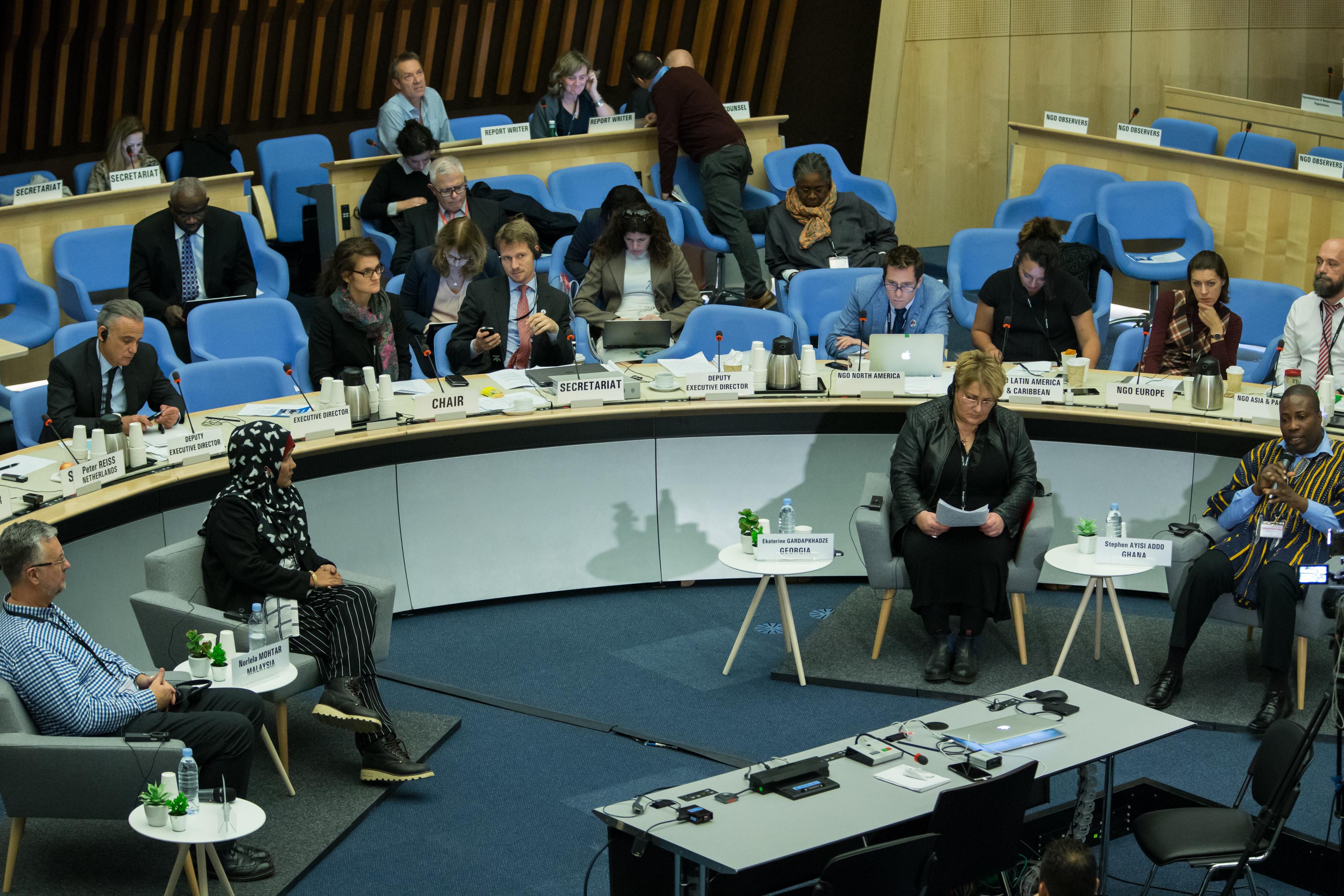 39th Meeting of the UNAIDS Programme Coordinating Board, December 8, 2016, Geneva, Switzerland. ©UNAIDS/Pierre Albouy