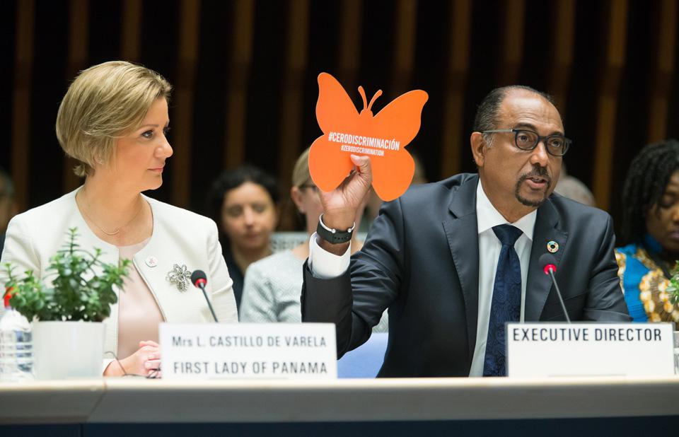 Michel Sidibe Zero Discriminação UNAIDS pcb