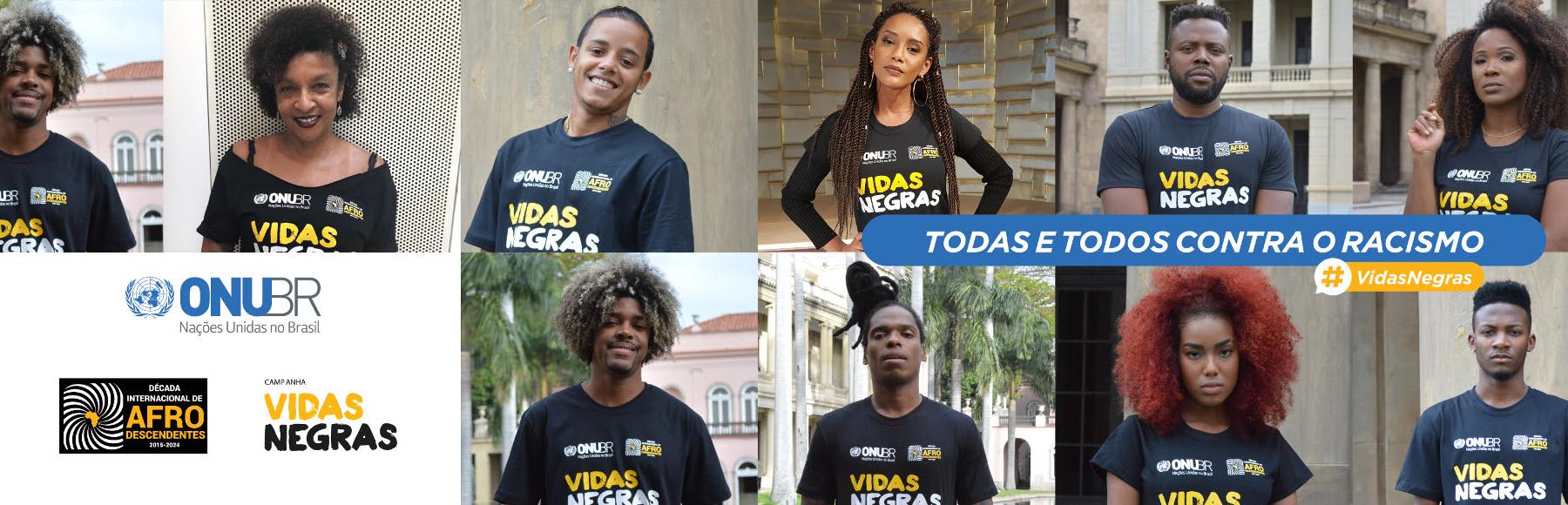 Resultado de imagem para campanha vidas negras