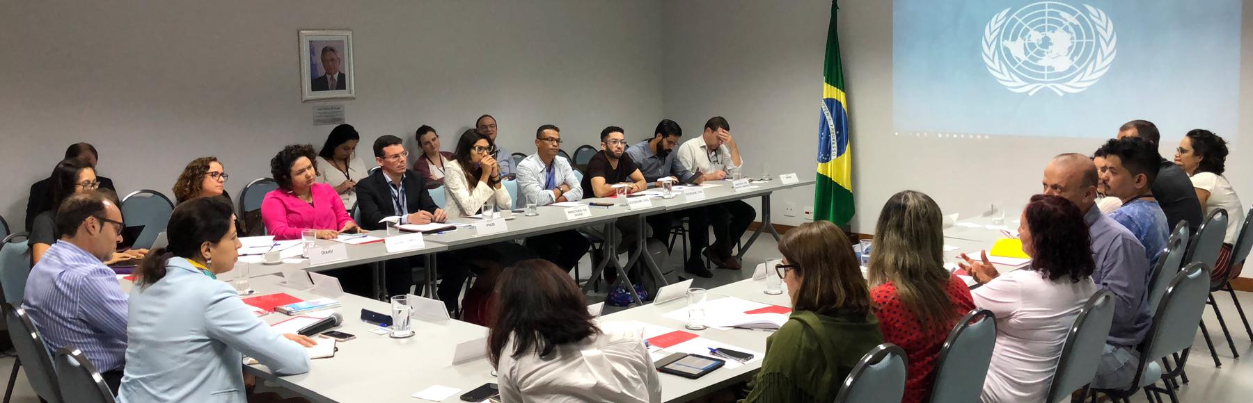 GT UNAIDS realiza última reunião de 2018 na sede da ONU em Brasília