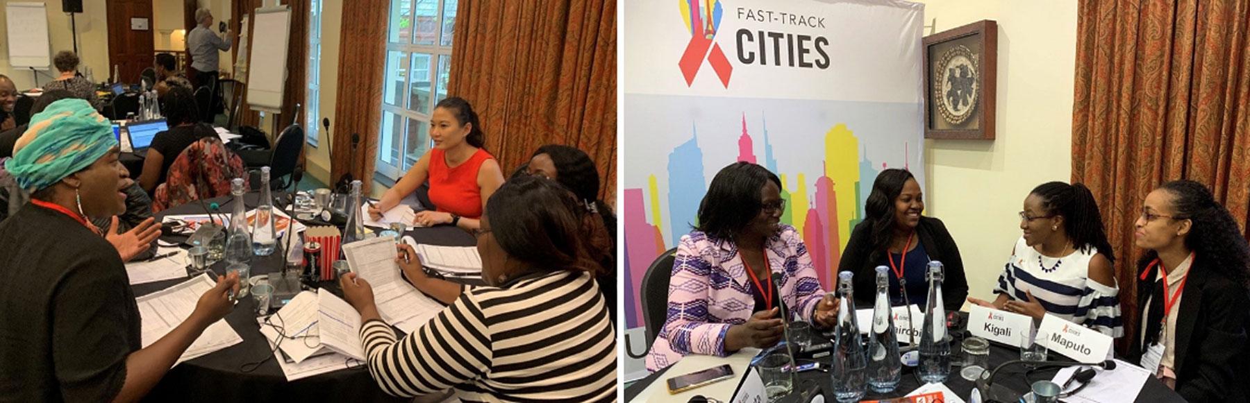 cidades signatárias da Declaração de Paris reúnem-se para compartilhar experiências e acelerar a resposta ao HIV