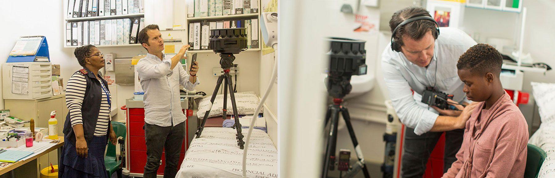 Em parceria com Google e Makhulu Media, UNAIDS lança vídeos educativos em realidade virtual sobre o teste de HIV