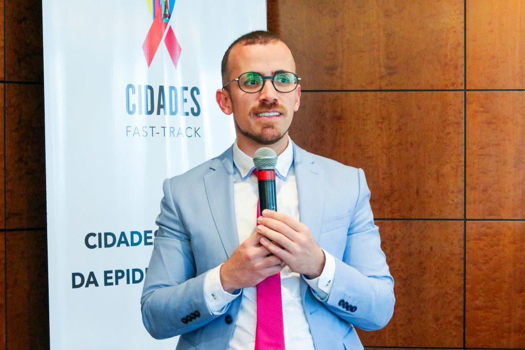 Cleiton Euzebio de Lima durante o Cidades Fast Track