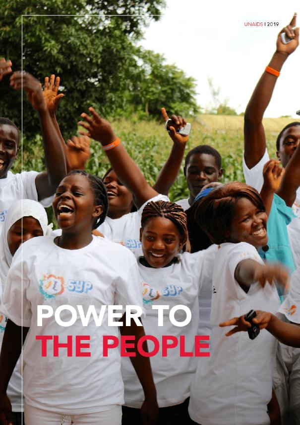 Garantir que pessoas e comunidades tenham o poder de escolher, saber, prosperar e demandar é a chave para acabar com a AIDS